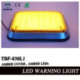Amber Ambulance Surface Mount cuadrado grande de luz de flash LED (TBF-830L1-A)