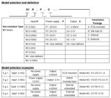 Сопротивление потенциометра/датчика/электрический сигнал правителя к 4-20mA/0-5V/0-10V передатчику Sy (ISO) R-P-O
