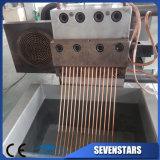 작은 알모양으로 하기 기계/선을 재생하는 두 배 단계 플라스틱 PP PE