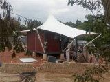 モジュラーか移動式/プレハブの輸送箱の家はとのテントを得る