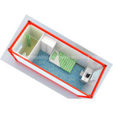 이동할 수 있는 Prefabricated 집 콘테이너 집