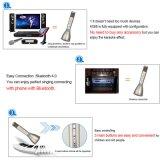 Des Karaoke-K068 Karaoke-Effekt-Stützandroide Apple-Telefone Mikrofon-drahtlose Mikrofon Bluetooth des Lautsprecher-KTV