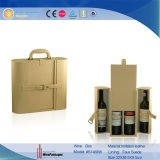 De klassieke Verpakkende Doos Wholesales van het Leer van de Doos van de Wijn van de Douane