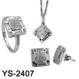 Серебр 925 оптовых ювелирных изделий способа установленный (YS-2392. JPG, YS-2393. JPG, YS-2394, YS-2395, YS-2407)