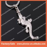 中国の金属Car Keyring Animal Imitation Gecko Key Holder Manufacturer