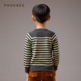 Les garçons de vêtement d'enfants de Phoebee ont tricoté les chandails rayés pour le printemps/automne