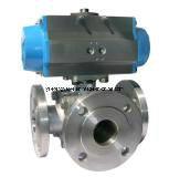 Válvula de esfera 3-Way elétrica de Actautor