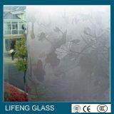 装飾的なパターンAcid-Etchedガラス曇らされた/Artガラス