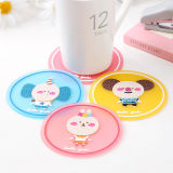 판지 Tableware Insulated Mat Silicone 커피 Cup Mat