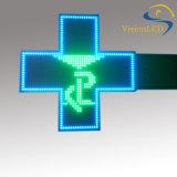屋外二重側面LEDの薬学の十字の印