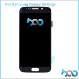SamsungギャラクシーS6端のタッチ画面のための携帯電話の予備品LCDの表示