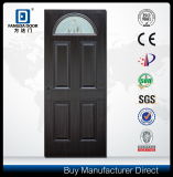 Los paneles de piel de acero americanos preparados interiores decorativos de la puerta con la flor grabada