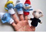 Brinquedos das crianças, brinquedo plástico do dedo