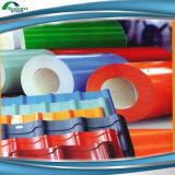 構築の建築材料のための着色された鋼鉄コイル