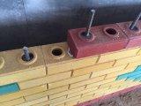 ISOの証明Sy1-20の油圧電気自動粘土の連結のブロック機械