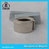 Изготовленный на заказ сильные магниты неодимия формы дуги для мотора