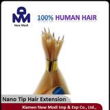 Nano 끝 1g는 브라질 사람의 모발 Virgin 사람의 모발 연장을 골라낸다