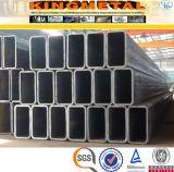 Kohlenstoffstahl-Quadrat-Gefäß 75X75 mm en-10210 S355j2h galvanisiertes