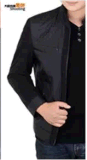 Beiläufige Form-Jacke der Großhandels-Soem Verbindung-Gewebe Männer