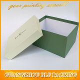 Lujo de papel de lujo del rectángulo de regalo de la cartulina