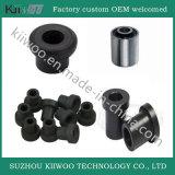 Metallo di gomma del piccolo di vibrazione di silicone ammortizzatore della gomma tenuto da adesivo