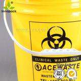 印刷された食品等級ふたおよびハンドルの卸売が付いている5ガロンのプラスチックバケツ