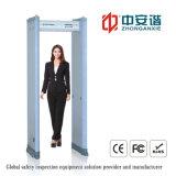 Detector de metales profesional del cuerpo humano Aeropuerto de Inspección de la arcada con doble infrarrojo