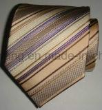 Cravate du jacquard tissée par soie des hommes de vente chauds