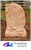 굴을 파는 손을%s 가진 성격 화강암 유럽식 기념물 또는 묘비