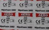 Varios diseños para las etiquetas de cuidado del traspaso térmico para la ropa