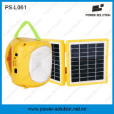 zonneLantaarn 4500mAh 6vbattery met de Lader van de Telefoon voor het Kamperen of de Verlichting van de Noodsituatie voor Zaal (ps-L061)