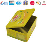 茶Bah Jy-Wd-2015112738のための長方形の茶錫ボックス