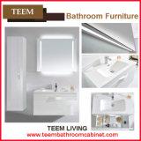 Tipo espelhado dos armários e vaidade moderna do banheiro do estilo