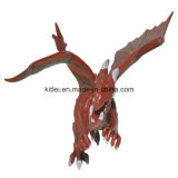 環境に優しいPolyresinの小型はえの恐竜のプラスチック漫画のドラゴンの子供のおもちゃ
