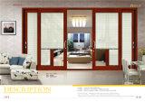 Окно новой конструкции алюминиевое сползая с высоким качеством