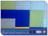Thermische Isolierungs-Polyester-Faser-akustisches Panel
