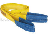 Imbracatura certa del poliestere per il sollevamento con il Ce, certificato di GS/strumentazione di sollevamento