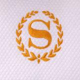 Hemstitch Serviettes de bain de luxe en coton 600 GSM blanc (32x63 pouces)