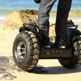 """Auto de duas rodas que balança a motocicleta elétrica do Chariot do """"trotinette"""" elétrico"""