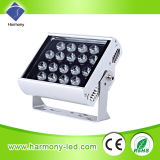 DMX512 diodo emissor de luz Round 18W Wall Washer Lights