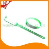 Krankenhaus-Einlage-Karten-kundenspezifische Vinylplastikwristbands-Armband-Bänder (6060A8)
