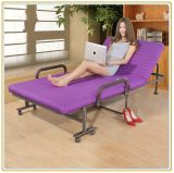 Bequemes Metal Folding Extra Bed für Leisure Relaxation