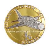 Высокое качество Challenge Promotion Coin с Dual Plating (Ele-C009)