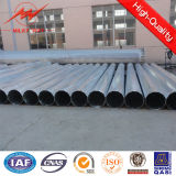 El 11.8m octogonal 500dan Hot DIP Galvanized poste con Cross Arm