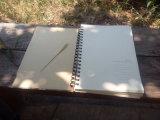 カスタムLogo MiniはElasticのクラフトPaper Notebookを螺線形区切る