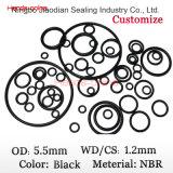 JIS2401 G55 bij 54.4*3.1mm met O-ring NBR
