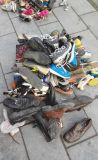 Дешевый человек & ботинки второй руки повелительницы Used Сандалии Stock для африканца (FCD-005)