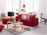 家の使用(SB015)のための赤いファブリックソファーベッド