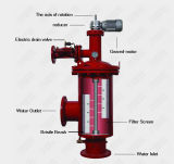 Sistema automático do filtro de água de Brushaway para o tratamento da água industrial