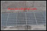Por inmersión en caliente galvanizado ISO9001 carretera Rejillas para drenaje